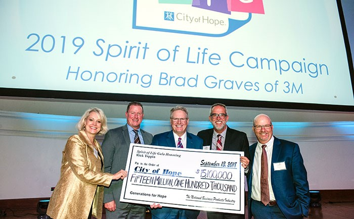 2019 Spirit of Life Campaign Honoring Brad Graves of 3M